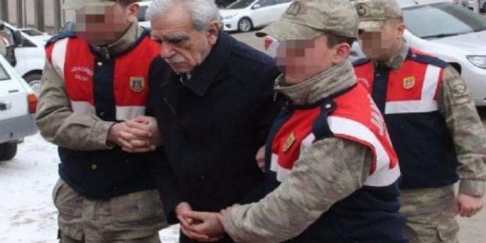 Ahmet Türk: Askerler, Düşmemem İçin Koluma Girdi