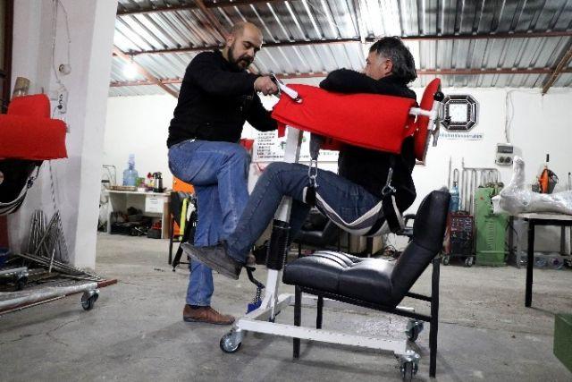 Engelli Yeğeni İçin Yaptığı Araç Avrupa Ülkelerinden Talep Aldı