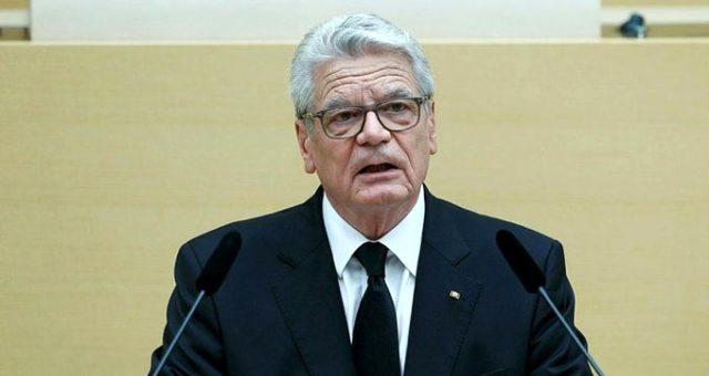 Eski Almanya Cumhurbaşkanı Gauck'Tan Dikkat Çeken İtiraf: Erdoğan'In Desteğine İhtiyacımız Var