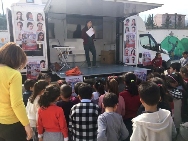 Kale'de İlkokul Öğrencilerine Sağlık Eğitimi