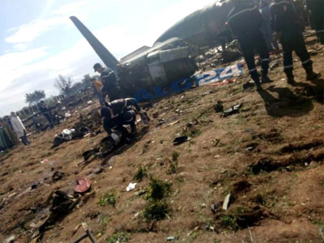 Cezayir'de Düşen Askeri Uçaktaki Bilanço Netleşti: 257 Ölü