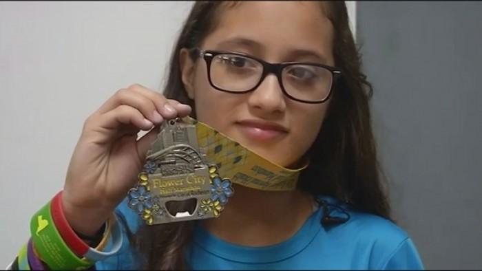 Yarış Yönünü Karıştıran 12 Yaşındaki Kız Yanlışlıkla Maraton Koştu