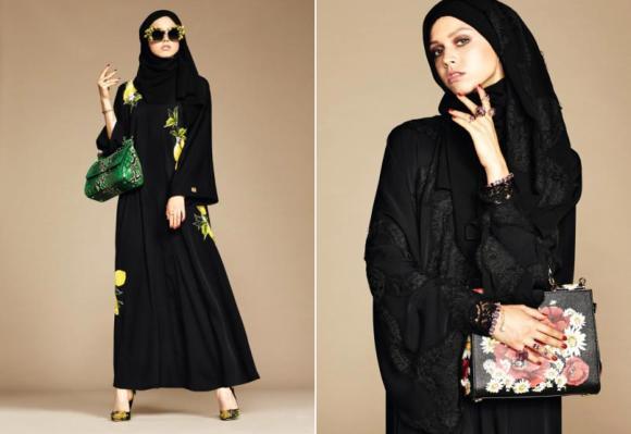 Dolce & Gabbana'dan Yine Tesettür Sürprizi