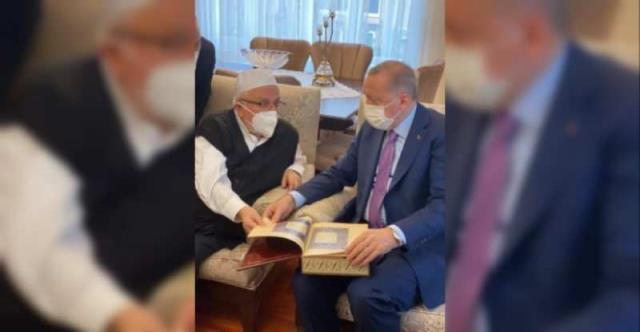 Cumhurbaşkanı Erdoğan'ın Milli Görüş'ün Saygın İsmi Doç. Dr. Nedim Urhan İle Görüştüğü Ortaya Çıktı