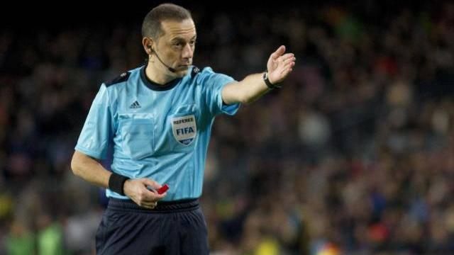 UEFA, Cüneyt Çakır'a Şampiyonlar Ligi'nde Maç Vermedi