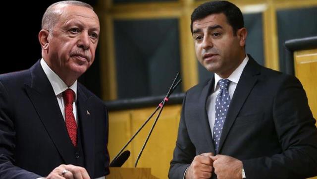 Erdoğan'dan AİHM'in Demirtaş Kararına İlk Tepki: Bu terör Yanlısı Karar Bizi Bağlamaz