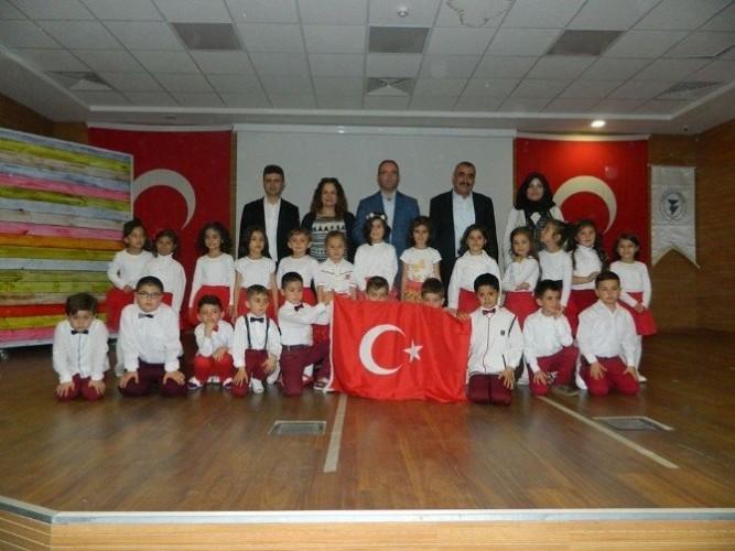 Yozgat Milli Eğitim Vakfı 1- D Sınıfı Öğrencilerinden Yıl Sonu Etkinliği